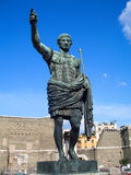 Augustus, roman emperor, Rome Stock Photography