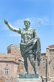 Augustus: the roman emperor. A statue of Augustus, the roman emperor Royalty Free Stock Photography
