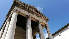 Augustus świątyni pula Zdjęcia Stock