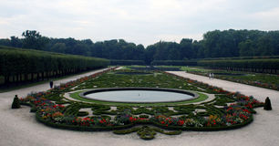 Augustusburg Gardens, Germany Stock Photo