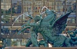 augustusplatz Λειψία Στοκ φωτογραφία με δικαίωμα ελεύθερης χρήσης