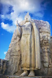 Aukana Bouddha, Sri Lanka Photographie stock