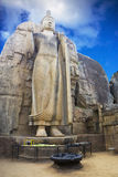 Aukana Buddha, Sri Lanka Royalty Free Stock Photography