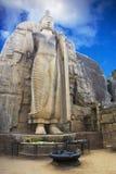 Aukana Buddha, Sri Lanka Royalty Free Stock Photography