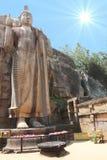 Aukana Buddha Sri Lanka Lizenzfreie Stockbilder