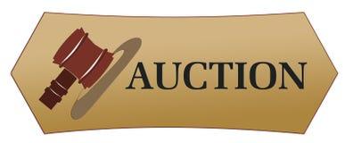aukcyjne ikony Zdjęcia Stock