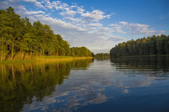 Aukstaitija National Park of Lithuania Royalty Free Stock Photo