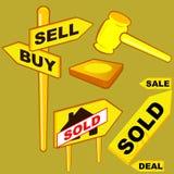 Auktion Lizenzfreies Stockbild