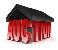 Auktion-Eigentum Stockfoto
