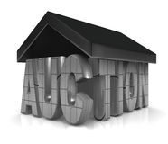 Auktion-Eigentum-Konzept Stockbilder