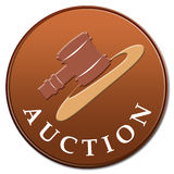 Auktionikone Stockfotografie