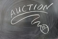Auktionord royaltyfri foto
