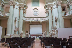 Aula of Accademia di Belle Arti in Bologna Stock Photography
