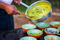 Aula de culinária Fotografia de Stock