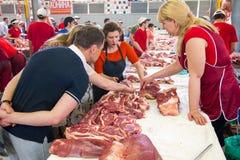 Aula de culinária Fotos de Stock Royalty Free