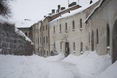 Aula del castello del vyborg Fotografie Stock