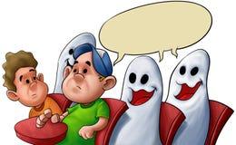 Aula del fantasma illustrazione vettoriale