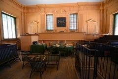 Aula del tribunale suprema nell'indipendenza Corridoio, Filadelfia Immagine Stock