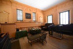 Aula del tribunale suprema nell'indipendenza Corridoio, Filadelfia Fotografia Stock