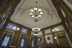 Aula giudiziaria 4 della costruzione storica Immagine Stock