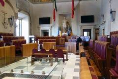 Aula Giulio Cesare in Rome Stock Image