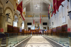 Aula Giulio Cesare in Rome Stock Photos