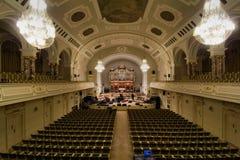 Aula UAM in Poznan Lizenzfreies Stockbild