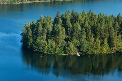 Aulanko landscape. Aulanko natural finnish national landscape Stock Images
