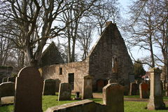 Auld alloway kirk. The ruined Auld Alloway Kirk, the setting for Robert Burns' poem 'Tam O'Shanter', in Ayrshire, Scotland stock photo