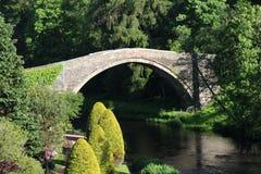 Auld Brig O'Doon, Alloway, Ayrshire, Schotland Stock Afbeelding
