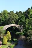 Auld Brig O'Doon, Alloway, Ayrshire, Schotland Royalty-vrije Stock Afbeelding