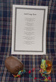 Auld Lang Syne And Robbie Burns Night In Scotland UK Stock Photography