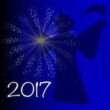 Auld Lang Syne 2017 Stock Photos