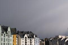 Aulesund Photographie stock libre de droits