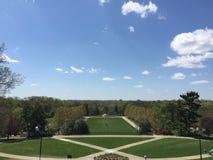 Ault Park in Cincinnati Ohio. Cincinnati Ohio Ault park sunny day stock image