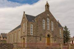 Aultbea Christian Congregation Church in NW Schotland royalty-vrije stock afbeeldingen