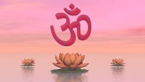 Aum de zen - 3D rendent clips vidéos