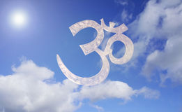Aum icon Royalty Free Stock Image