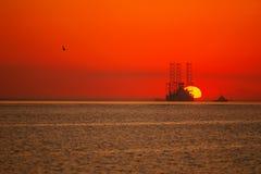Aumentação colorida do sol imagem de stock royalty free