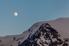 Aumentação da Lua cheia Imagens de Stock