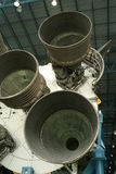 Aumentadores de presión de Saturno V Rocket Fotografía de archivo