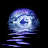Aumentare della luna piena Immagine Stock Libera da Diritti