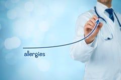 Aumentare di allergie Fotografie Stock