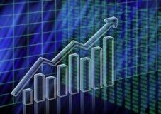 Aumentare di riserva di valore Immagine Stock Libera da Diritti