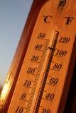 Aumentare di temperatura Fotografie Stock Libere da Diritti