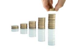 Aumente suas economias Imagem de Stock Royalty Free