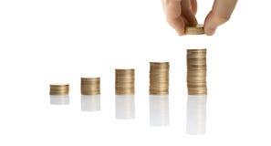 Aumente suas economias Fotos de Stock