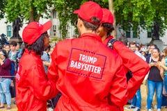 Aumenti del bambino di Trump Immagine Stock