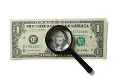 Aumenti i soldi Fotografia Stock