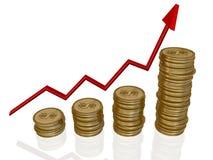 Aumenti il vostro risparmio Immagine Stock